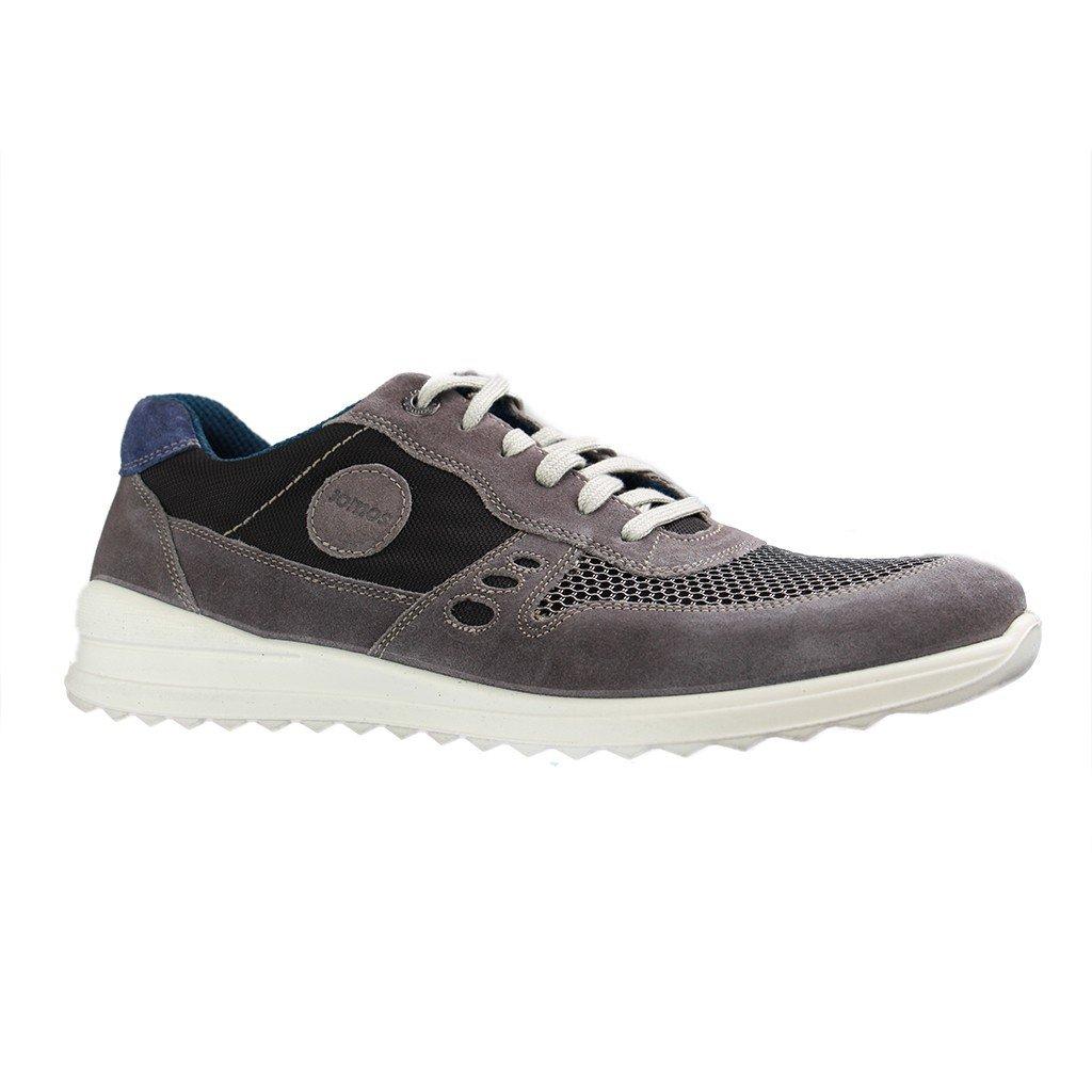 Jomos - Herren Halbschuhe - Grau Schuhe in Übergrößen Grau