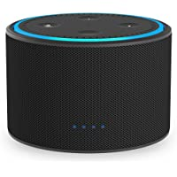 Ninety7 DOX Portable Battery Base for Amazon Echo Dot (Black/Carbon)