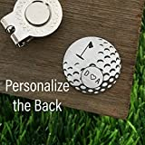 Best Sierra Metal Design Birthday Gift For Men - Personalized Initials Golf Ball Marker Personalized Valentines Day Review