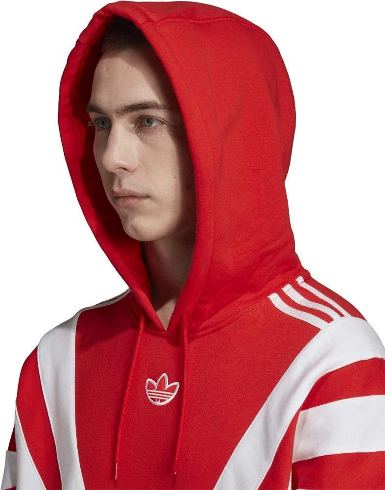adidas BLNT 96 Hoodie red: : Sport & Freizeit