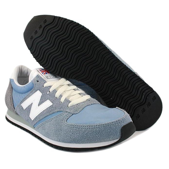 New Balance 420 England U420OUD Mens Laced Suede & Nylon