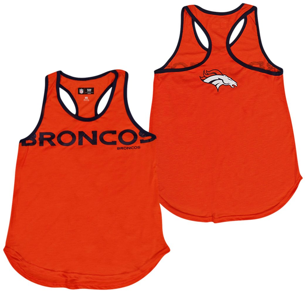 406a26c0 Amazon.com : G-III 4her by Carl Banks Denver Broncos Women's Orange ...