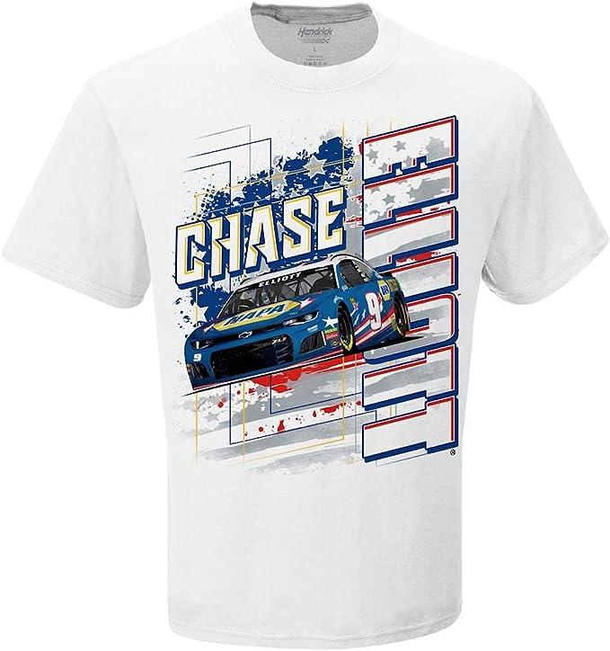 Chase Elliott T Shirt >> Checkered Flag Chase Elliott 2019 Napa Patriotic 9 Paint Scheme Nascar T Shirt
