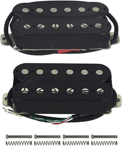Pastillas de repuesto para guitarra eléctrica FLEOR Humbucker ...