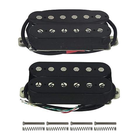 Pastillas de repuesto para guitarra eléctrica FLEOR Humbucker Alnico, 5 imanes