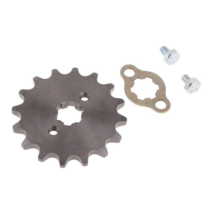 420-16T-17mm Black Homyl 420 17mm//20mm Front Counter Sprocket for Pit Dirt Bike 110 125cc SDG SSR