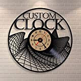 Jedfild The lovely art wall clock exposed Grid
