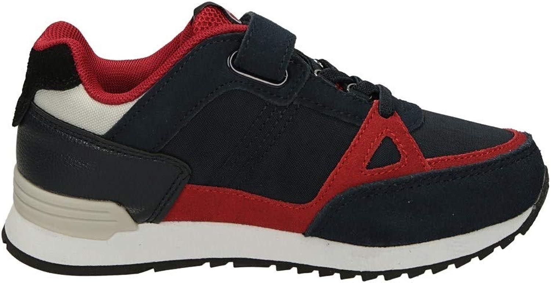 Colmar Homme en Cuir Sneaker suprême Couleurs Gris-Jaune-Royal ou Marine Modèle Couleurs suprême. Collection Printemps Eté 2020. Une Chaussure Parfaite pour Le Moment Bleu