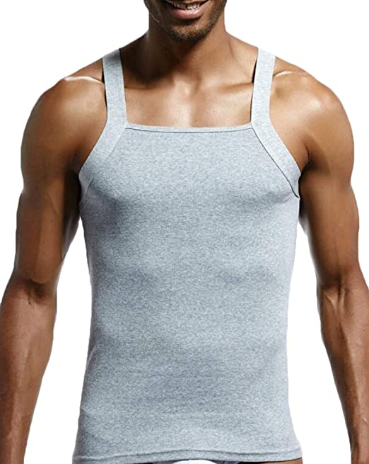 Herren Basic Tank Top Trägershirt 100/% Baumwolle