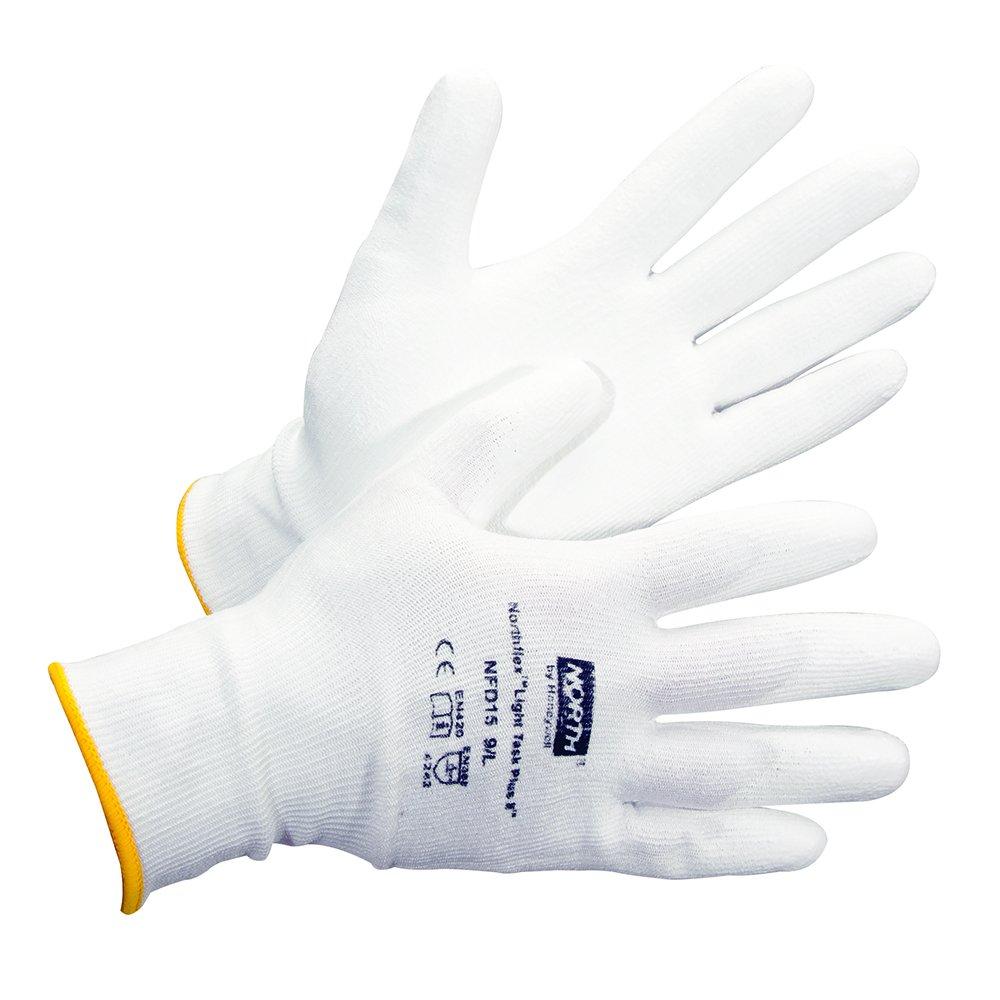RWS-57028 X-Large 13 gauge Honeywell Northflex Light Task II White PU-Coated Dyneema Cut-Resistant Gloves