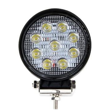 Aquiver - Bombillas LED deportivas, 27 W, luz de trabajo, lámpara de conducción