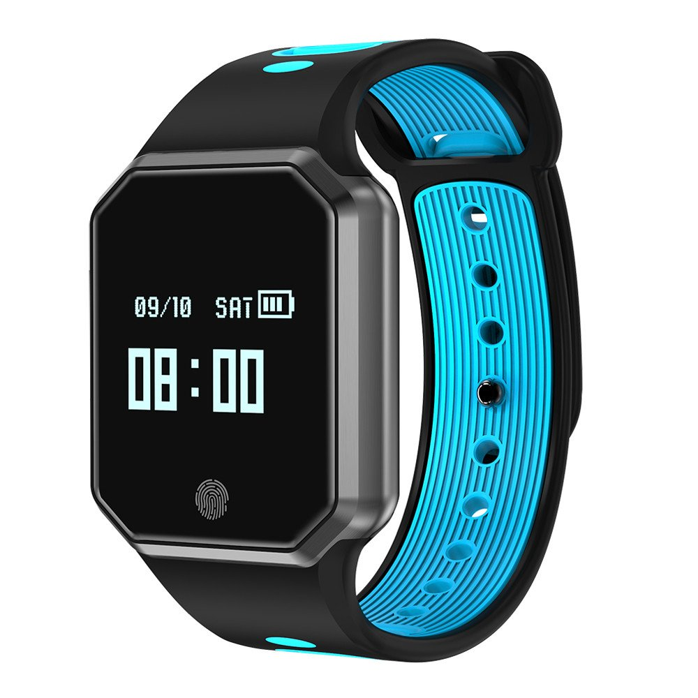 RedBrowm Smart Watch for Women Men with Bluetooth and WiFi,Color screensmart,Activity Tracker and Sleep Monitor,Smart Watch Sports Fitness Activity Heart Rate Tracker Blood Pressure Watch