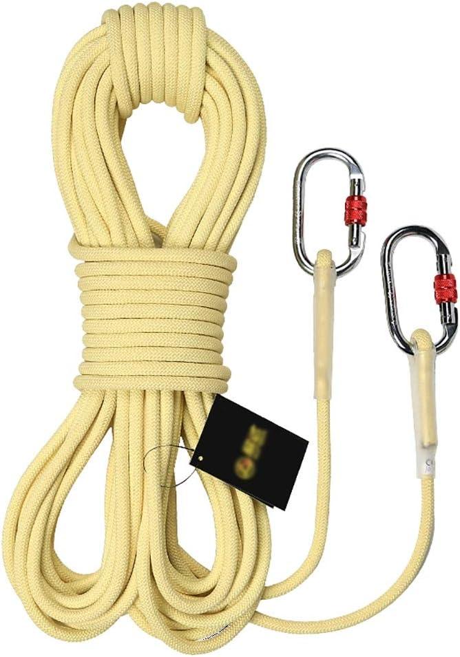 Rope Diámetro de la Cuerda de Escalada Exterior -8mm / 10.5mm ...