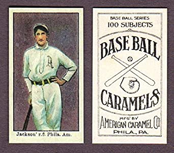 Amazoncom Shoeless Joe Jackson 1909 T 206 Baseball Rookie