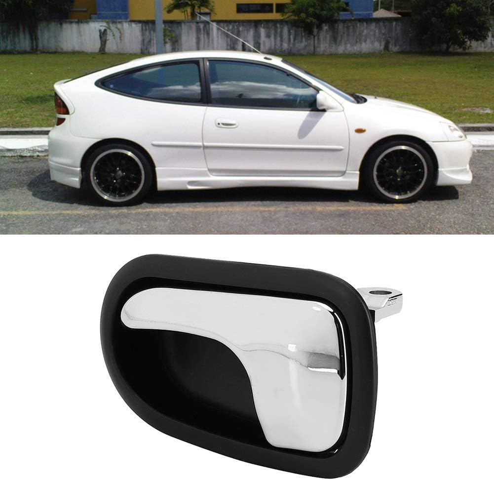 Manija de la puerta del autom/óvil izquierda, derecha La manija interior de la puerta del auto interior izquierda derecha del autom/óvil se adapta a Mazda 323 Protege BJ Series 1998-2003