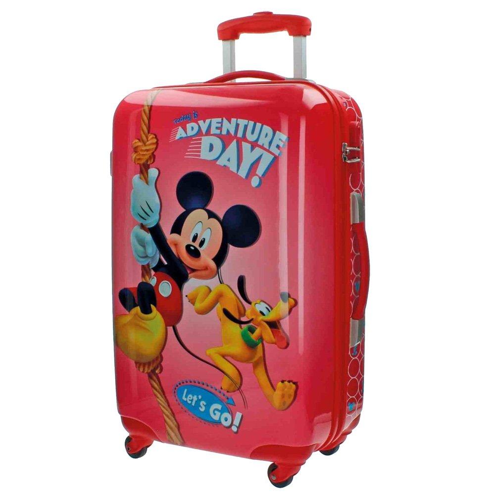 Disney Koffer Mickey Kindergepäck, 53 Liter, Rot