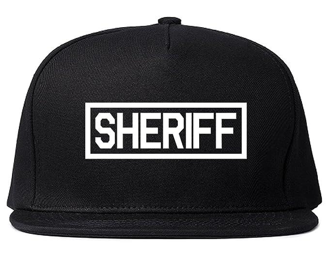 02f2c6ce4 Sheriff County Police Snapback Hat Cap