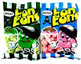 Eiffel Bon Bons 2-Flavor Variety: One 4 oz Bag Each of Strawberry and Apple Flavor in a Gift Box