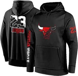 Personalizado Chicago Bulls Sudaderas de Baloncesto, Hombre Jordan ...