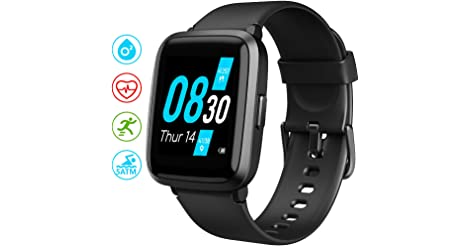 UMIDIGI UFit Fitness Tracker Smart Watch with SpO2 and Heart Rate Monitor only $23.49