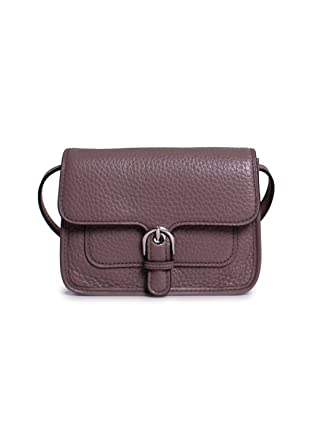 3fef2d9c160d Image Unavailable. Image not available for. Color: MICHAEL Michael Kors  Womens Cooper Leather Adjustable Crossbody ...