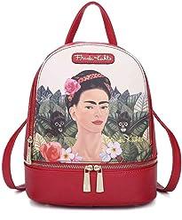 Frida Kahlo Licensed Backpack, Jungle Collection