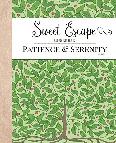 Sweet Escape Coloring Book Patience product image