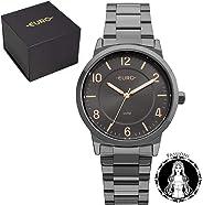 Relógio Feminino Euro Eu2036ylz/4p Preto/Rose