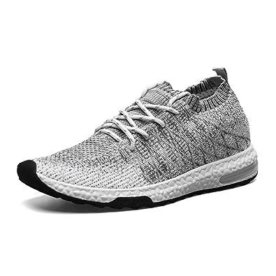 happygo Herren Damen Laufschuhe Unisex Sportschuhe Atmungsaktiv Weiche Air Running Schuhe Bequeme Leichte Sneaker We6616