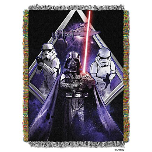 """UPC 087918178700, The Northwest Company Lucas' Star Wars """"Midnight Vader"""" Tapestry Throw, 48 by-60-Inch"""