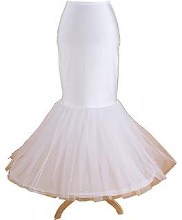 PJ enagua de la boda accesorios de la boda Enaguas Falda paseo de novia de cola