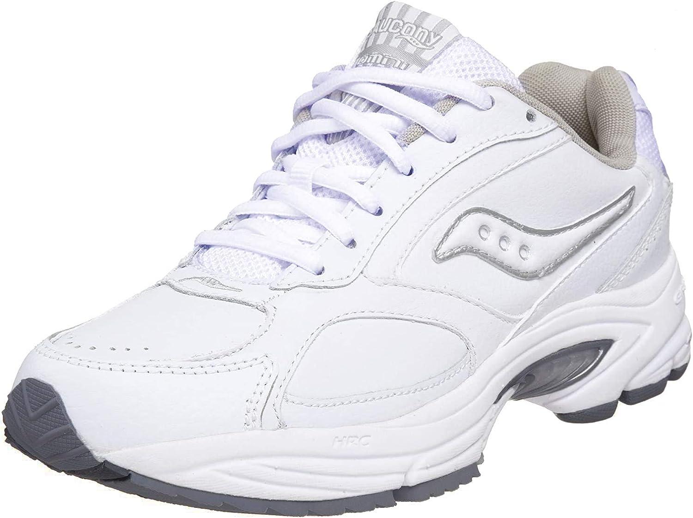 Women/'s Saucony Omni Walker White-Silver
