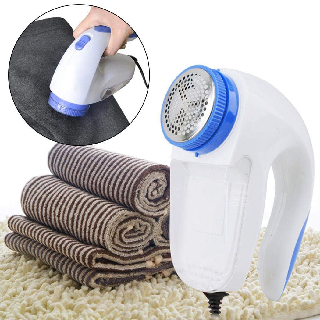 Bluefringe Practical Electric Clothes Lint Remover Fluff Removing Machine