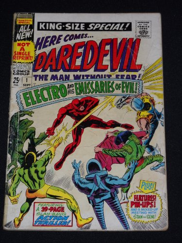 Daredevil King-Size Special #1 1967 Silver Age Marvel Comic Book