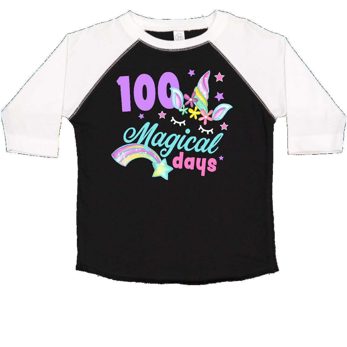 inktastic 100 Magical Days with Unicorn Toddler T-Shirt