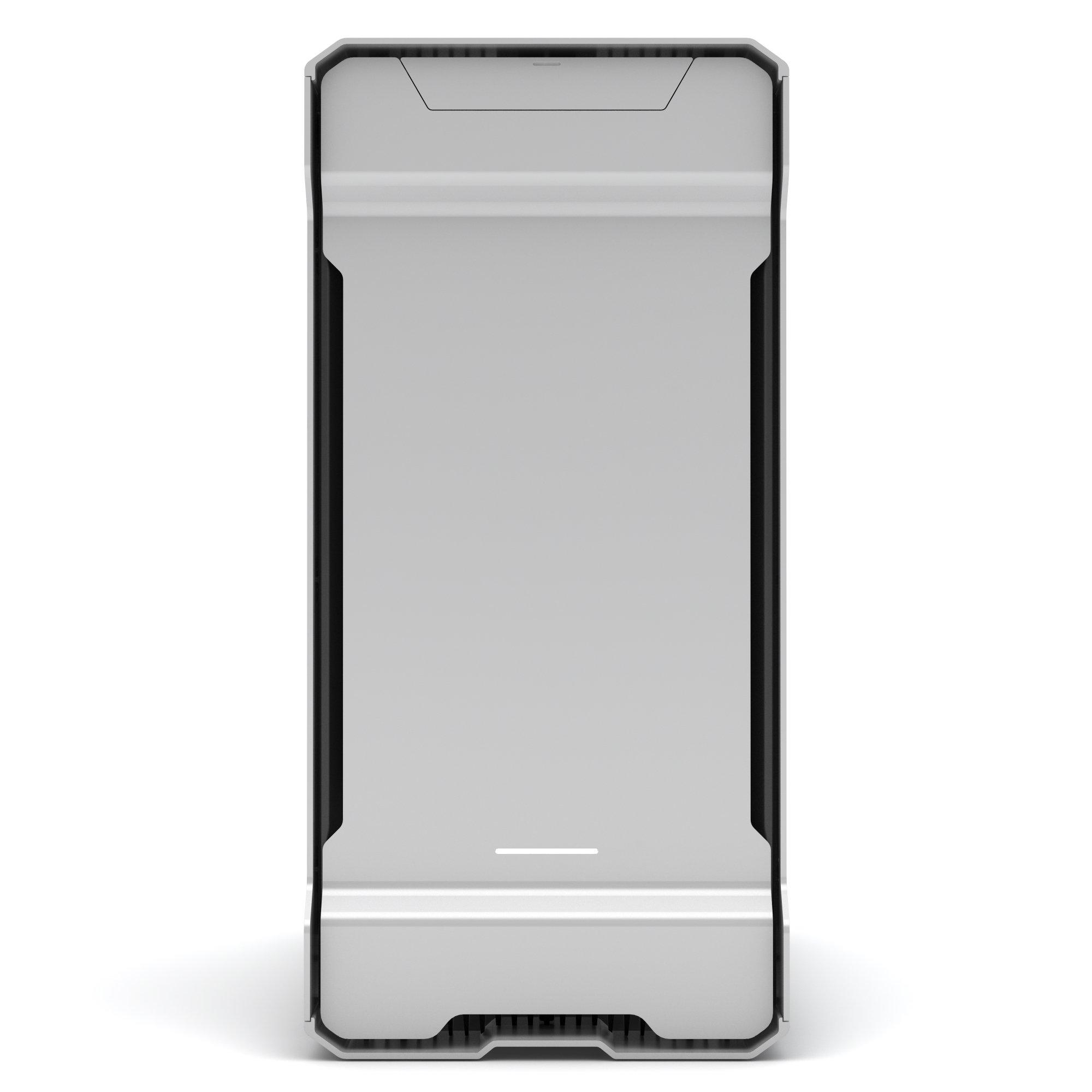Phanteks Enthoo Evolv ATX Alum/Steel Tower Computer Case, Window (PH-ES515E_GS) Galaxy Silver by Phanteks (Image #5)