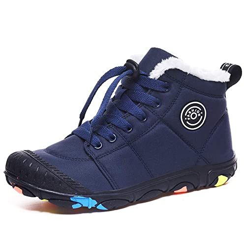 DoGeek Botas Nieve Botas de Forro de Piel de Invierno Zapatos Cálidos para Exteriores