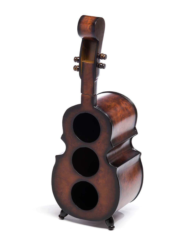 Aubaho Weinregal 60cm Cello Bass Kontrabass Flaschenregal Flaschenständer Wein Regal