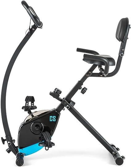 Capital Sports Trajector Bicicleta estática ergómetro Plegable ...