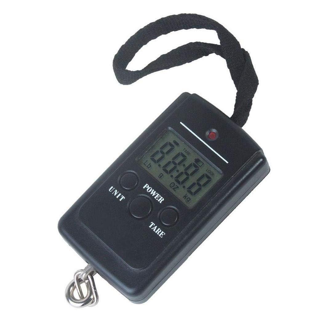 Kaimu Pocket Portable Travel Mini Electronic 40kg LCD Digital Hanging Luggage Scale Luggage Scales