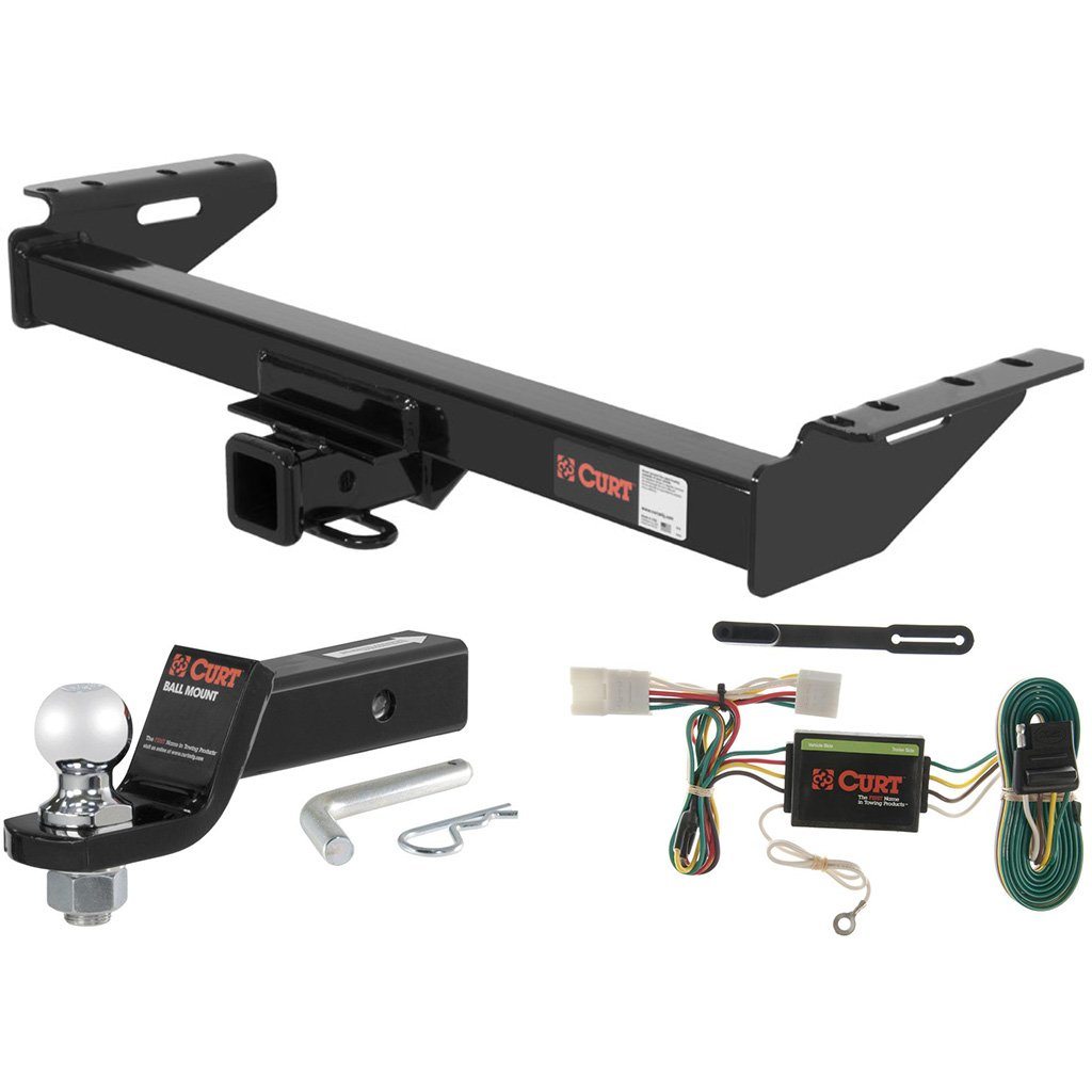 Curt 13084-55354 Trailer Hitch and Wiring Package