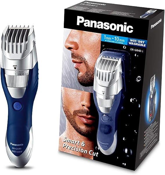 Panasonic ER-GB40-S503 - Cortapelos en seco y húmedo, lavable ...
