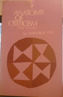 com anatomy of criticism four essays  anatomy of criticism four essays