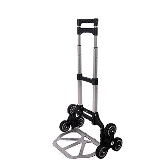 Walgreen® 70 kg 6 ruedas resistente escalera camión carretilla de mano camión Tri Rueda Carrito: Amazon.es: Industria, empresas y ciencia