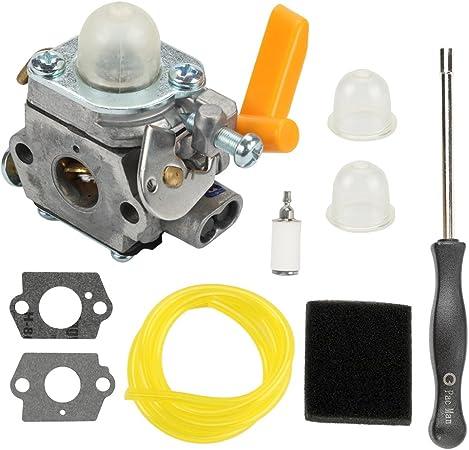 Carburetor Air filter Tune up kit For Ryobi CS30 BC30 SS30 Brushcutter Trimmer