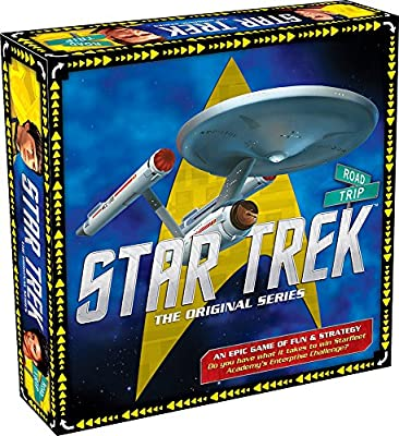 Aquarius Star Trek Road Trip Board Game