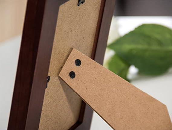 weiwei Marco de madera sólida de la foto,5 pulgadas de creative 6 pulgadas 7 pulgadas Niños marco portaretrato Marco de fotos manualidades casa-A ...