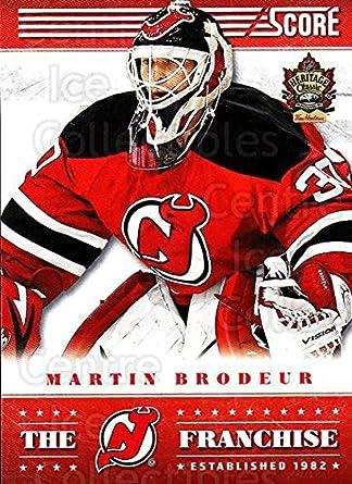 Amazon Com Ci Martin Brodeur Hockey Card 2013 14 Heritage Classic