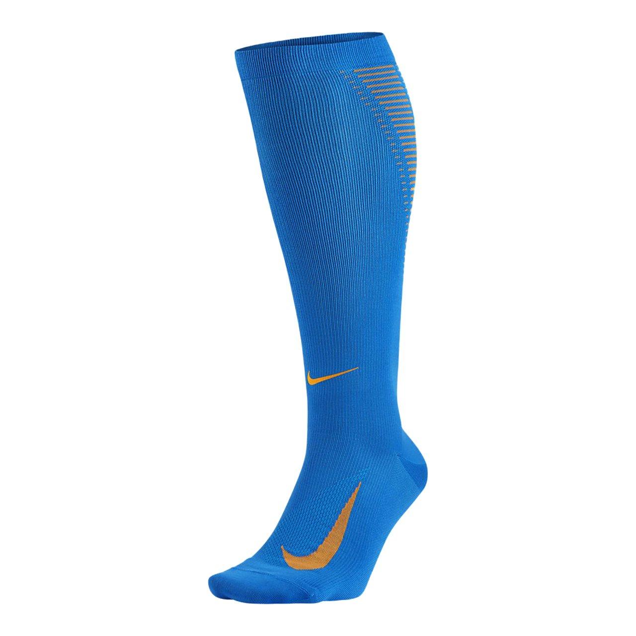 Blau (Photo Blau   Vivid Orange   Reflect Silber) Nike U Nk ELT Comp OTC Calcetines, Hombre