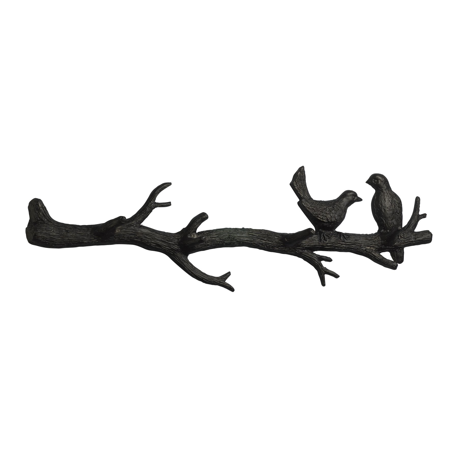 Cyan Design 01868 Bird Branch Coat Hook Ideal Gift for Wedding, Floral / Floor Vase, Party, Home Decor, Office, Spa